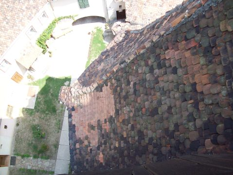 Biserica fortificata din Axente Sever acoperis din sindrile