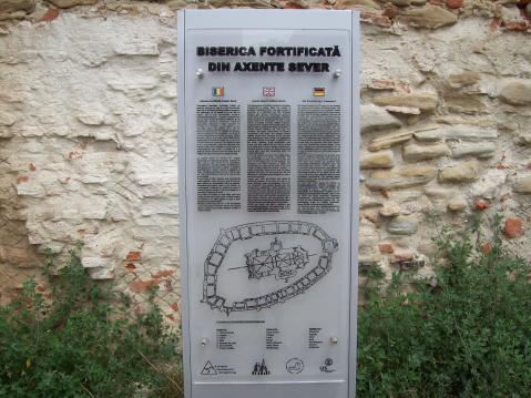 Biserica fortificata din Axente Sever - legenda