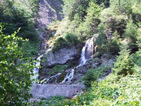 cascada Romania - Jepii Mici - Bucegi