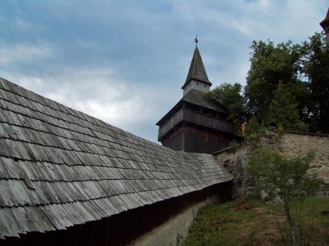 acces ]n biserica fortificata Biertan