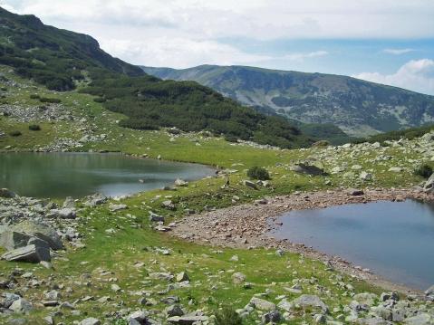 lacuri glaciare mai sus de Câlcescu