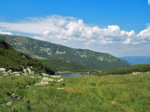 privelişte lacul Câlcescu