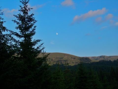 răsărit de lună Transalpina
